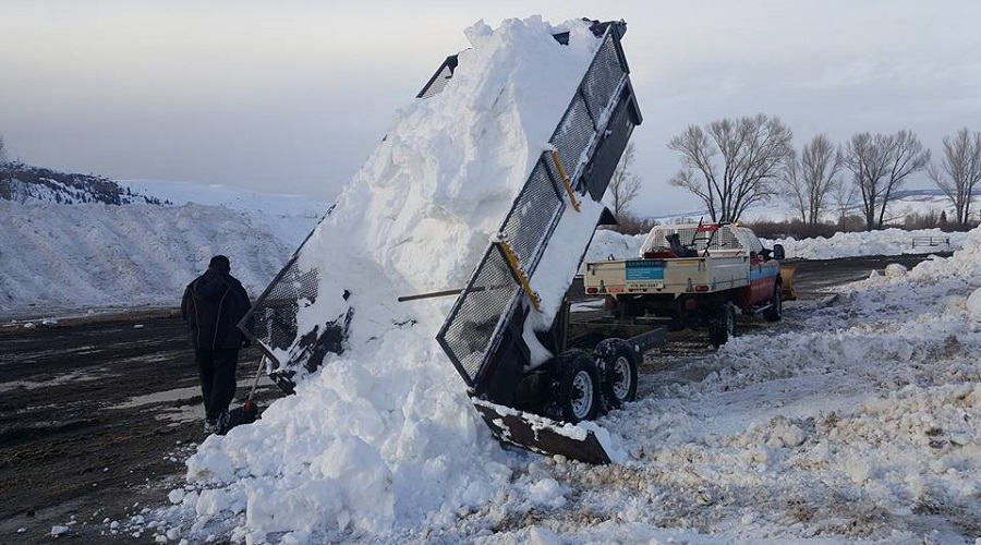 commercial snow removal and haul off